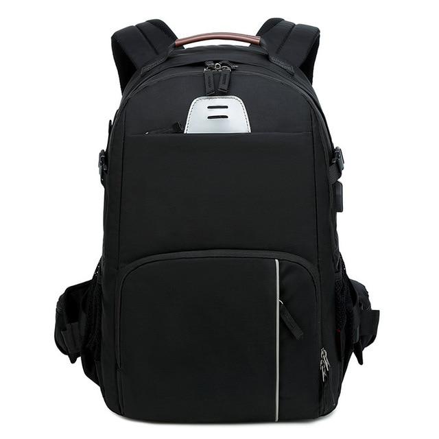 Careell c3058 dslr saco da câmera foto mochila câmera universal grande capacidade de viagem mochila para canon/nikon câmera