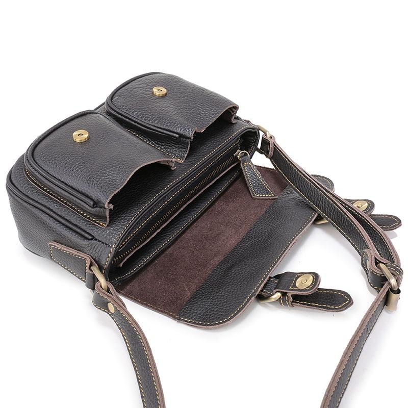 Nuleez Vintage ნამდვილი ტყავის - ჩანთები - ფოტო 3