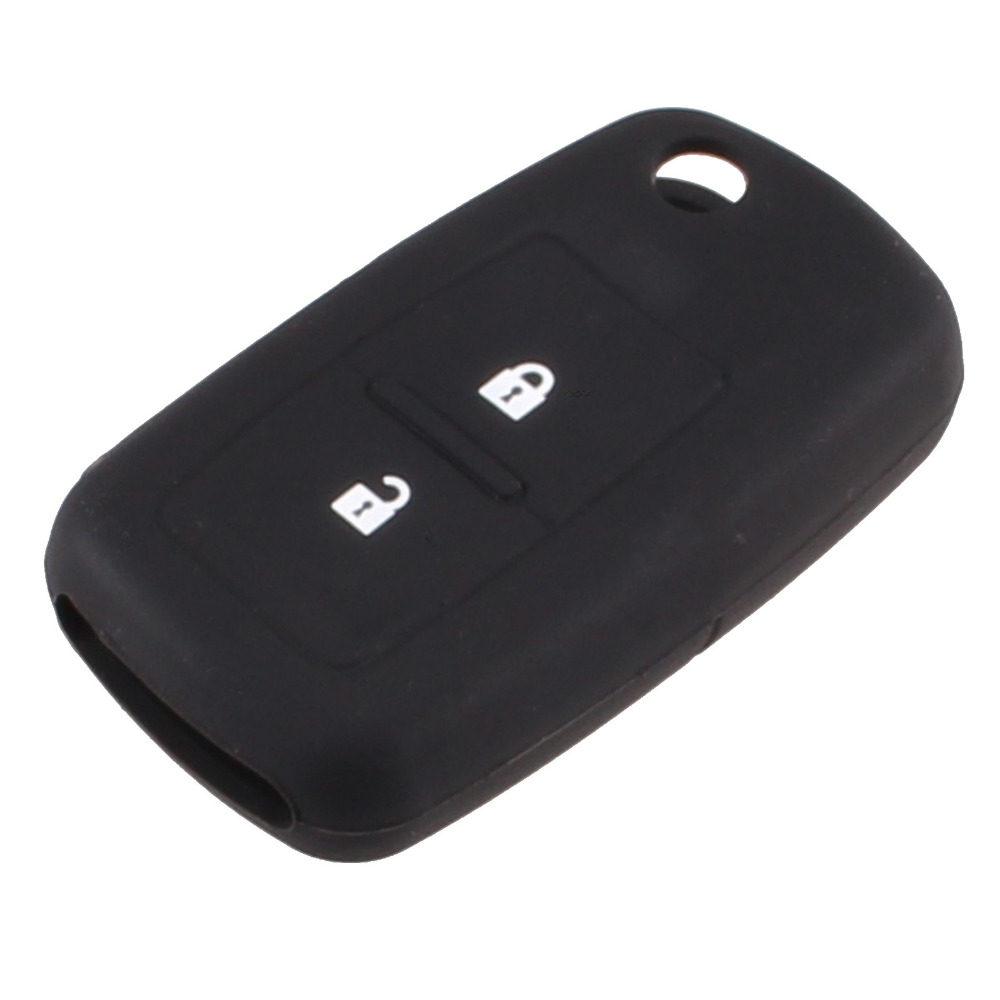 KEYYOU Silicone 2 կոճակ Հեռակառավարվող մեքենա Key Fob Case Holder Cover Vw VOLKSWAGEN MK4 Seat Altea Alhambra Ibiza Polo T5 Passat