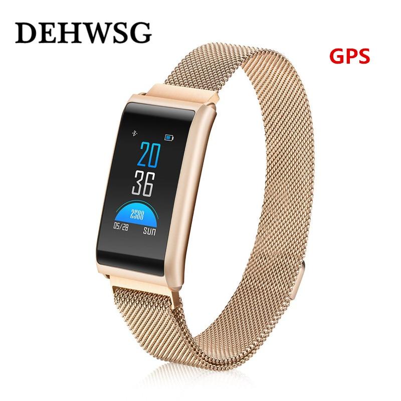 DEHWSG X5 Modern luxurious luxury Smart watch men women Fitness Bracelet Support GPS Waterproof Activity Tracker PK P68 Fit bit-in Smart Wristbands from Consumer Electronics    1