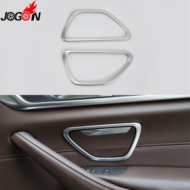 For BMW 5 Series G30 2017 2018 Car Interior Rear Door Handle ...