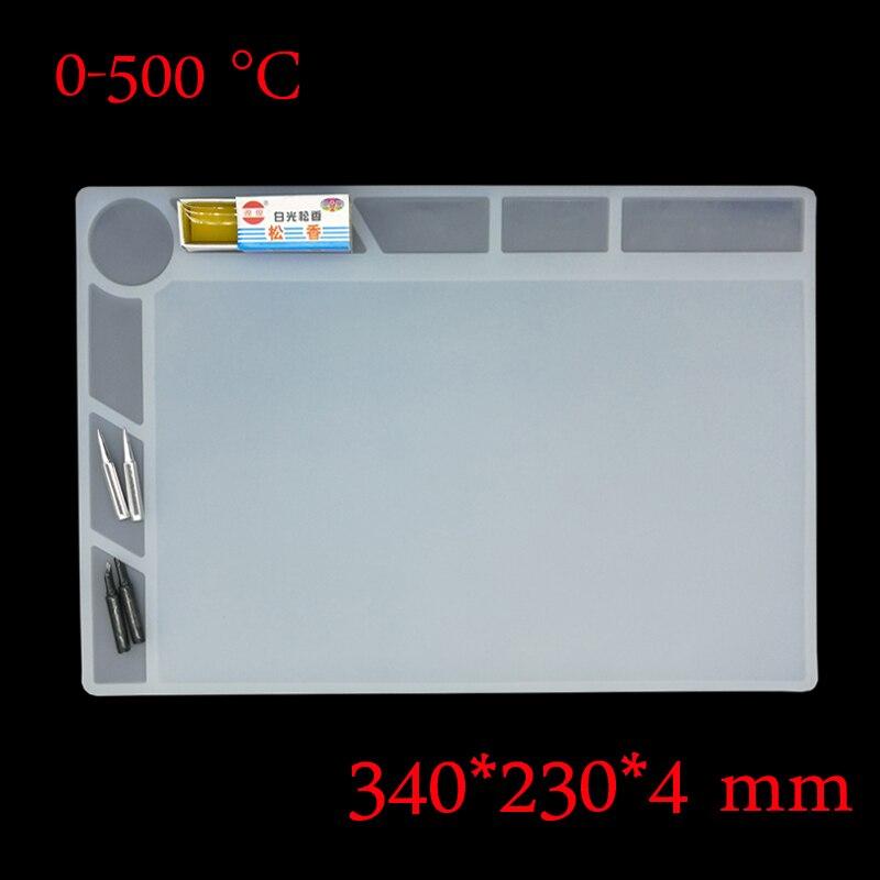 Heat-resistant Heat Gun BGA Soldering Station Repair Insulation Pad Insulator Pad Desk Mat Maintenance Platform heat pad