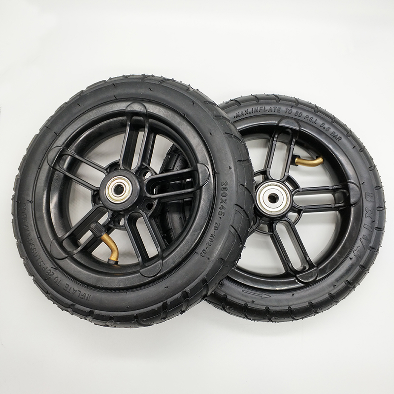 free shipping scooter wheel tyre wheel diameter 200 mm thickness 36 mm 2 pcs /lot