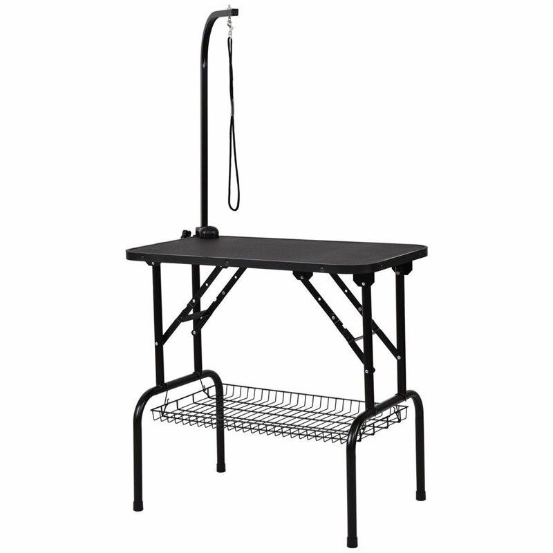 32 стол для ухода за домашними животными прочный складной резиновый Топ PS6895 - 3