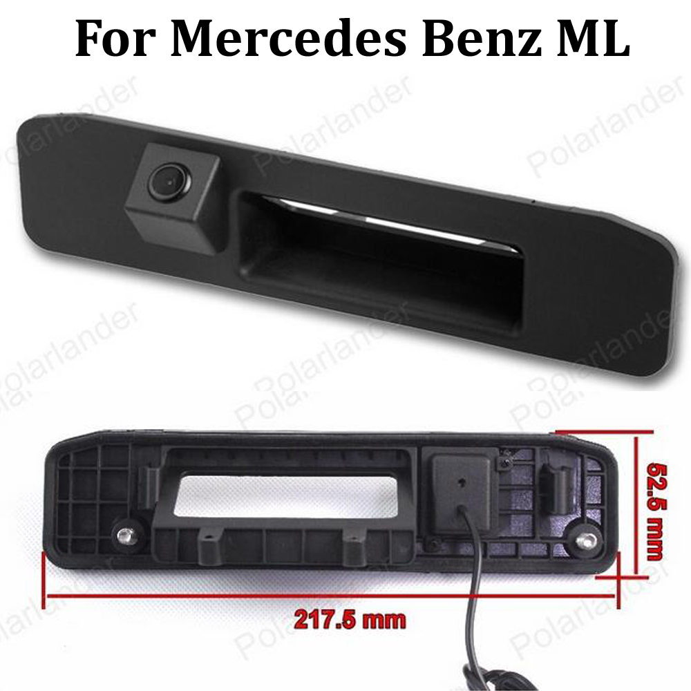 Night Vision Waterproof Reverse Camera CCD Rear View Camera For Mercedes Benz ML W166 ML250 ML350 ML400 ML550 ML63 2013~2015