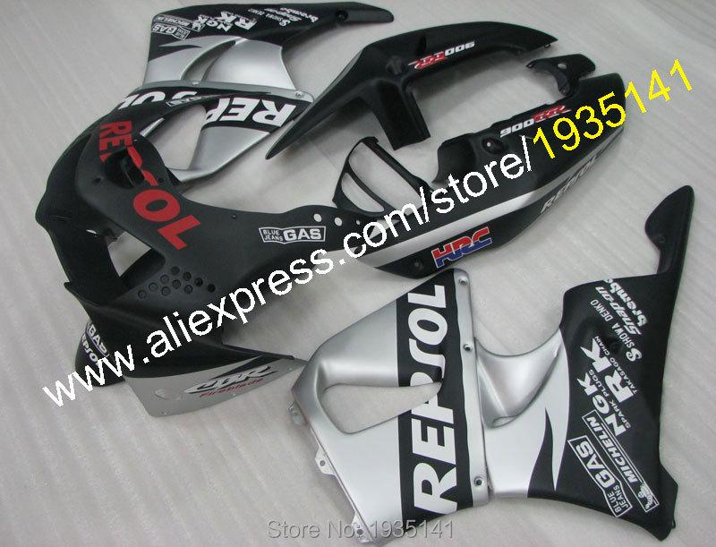 Горячие продаж,пригодный для Honda CBR900RR 919 1998 1999 Огненный ЦБР 900 РР 98 99 CBR900 CBR919 Репсол АБС, кузовные работы Спортбайки обтекатель