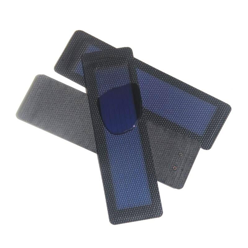 Buheshui 0.5 Вт Гибкая солнечных элементов аморфного кремния Складная очень тонкий Панели Солнечные DIY телефон Зарядное устройство 3 шт./лот