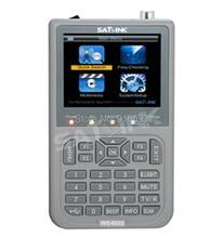 SATLINK WS 6925 Digital Satellite Meter DVB T HD Mpe4 H 264 Satellite Finder Terrestrial Signal