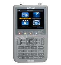 SATLINK WS-6925 Digital Satellite Meter DVB-T HD Mpe4 H.264 Satellite Finder Terrestrial Signal Finder Satellite TV Receiver