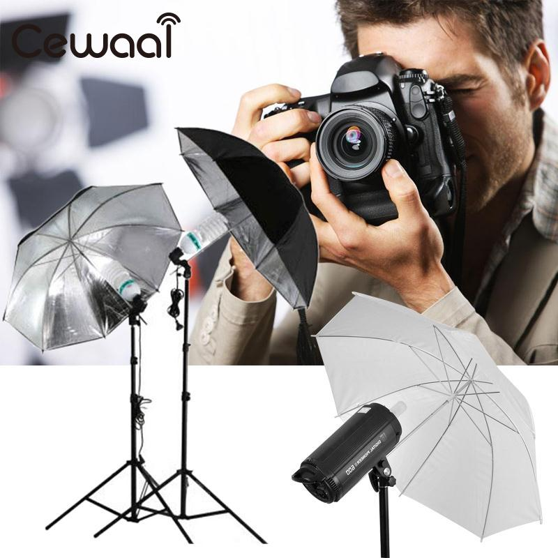 "Cewaal Camera 33"" 83cm Inch Translucent White Photography Light Photo Studio Video flash Soft Umbrella High Quality Brand New"