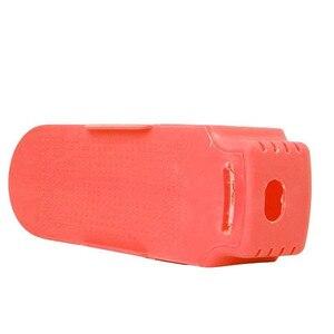 Image 5 - חם צבעוני תצוגת נעלי שטח מדף חיסכון פלסטיק מתלה אחסון sapateira organizador כפול פלסטיק נעל rack לחסוך חלל
