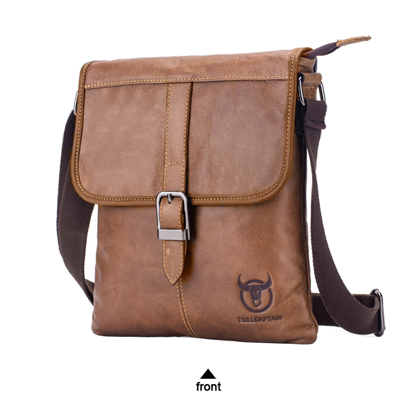 couro moda aleta masculino sacos crossbody bolsas