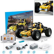 Technology Machinery Group Jedi Survival Brakes Off-road Vehicles Motorcycle Armored Vehicles Assembled Blocks7081  7086 7045 цена