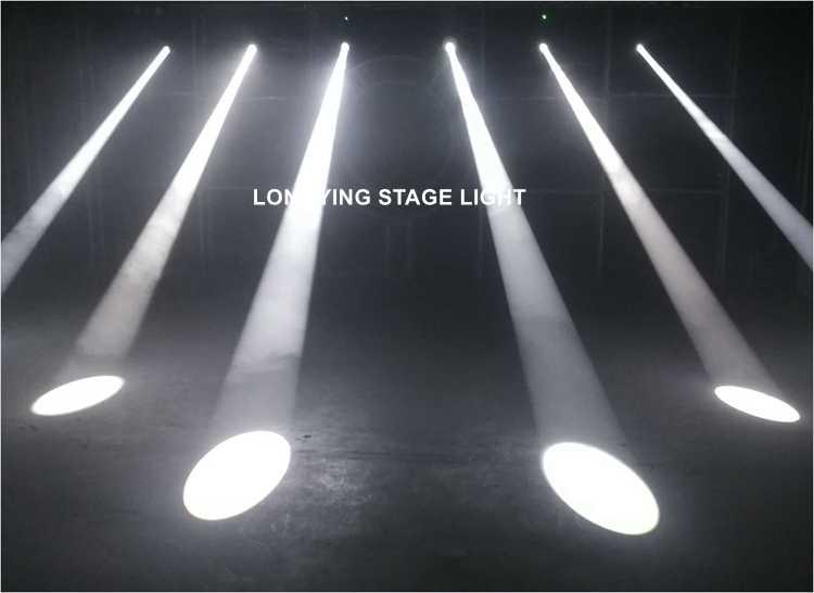 Envío Gratis 2018 nuevo 230 W Punto de lavado 3in1 cabeza móvil haz de luz escenario luz LED Lyre luz de carretera escenario DJ