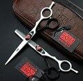 БЫСТРАЯ Доставка 4 цветов Профессиональные ножницы бренд ЯПОНИЯ KASHO 6 дюйм(ов) 440C ножницы парикмахерские парикмахерская ножницы