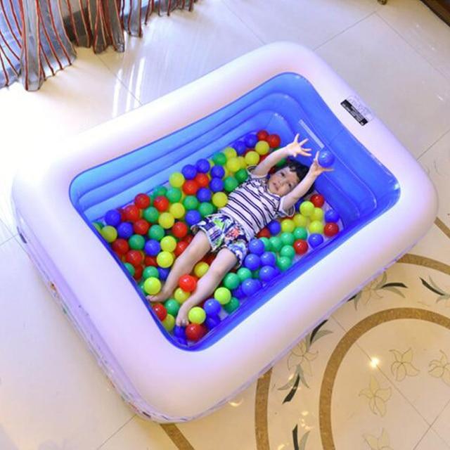 140 99 46 cm baby schwimmbad aufblasbare pool gro e kunststoff schwimmbecken. Black Bedroom Furniture Sets. Home Design Ideas