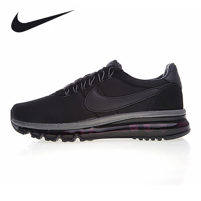 e332f520fe NIKE AIR MAX LD-ZERO Men's Running Shoes, Black, Shock Absorption Wrapping  Balance Lightweight 885893-001