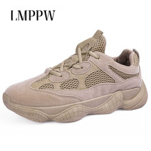 купить Men's Shoes New Breathable Casual Sports Shoes Super Fashion Men Chunky Sneakers Lace Up Flats Trainers Chaussures Pour Hommes дешево