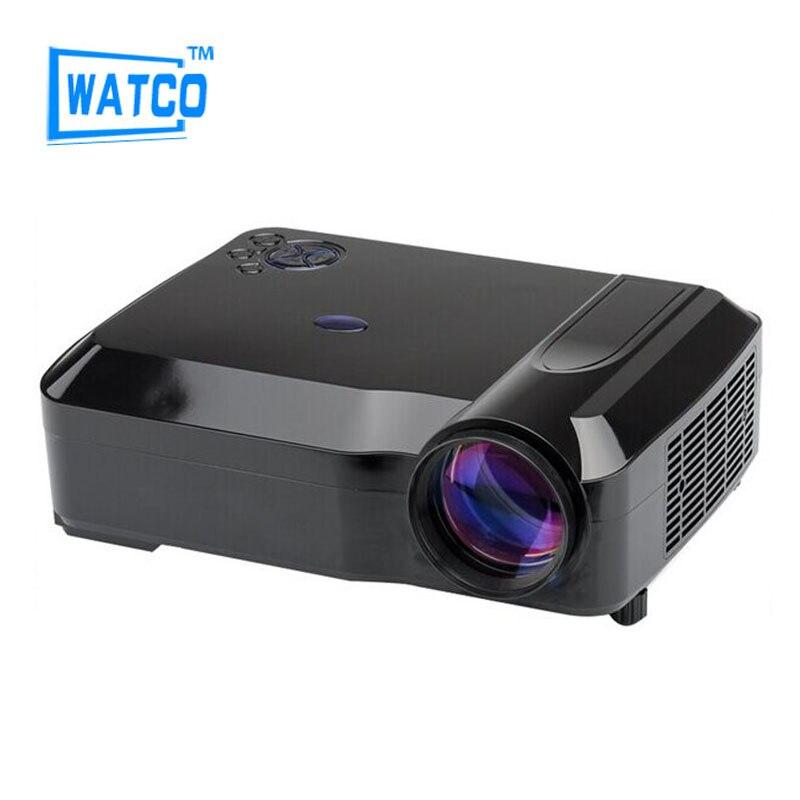 2016 Free gift brightness 4200 lumens hd blh projectors support USB VGA HDMI AV TV 180