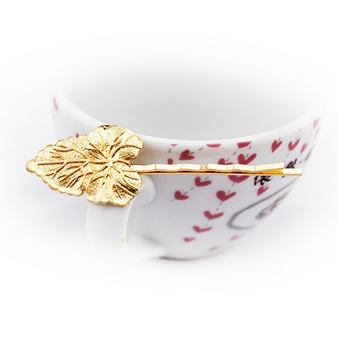 все цены на Europe and the United States electroplating wave shape of golden leaves Maple leaf hairpin clip A word with онлайн