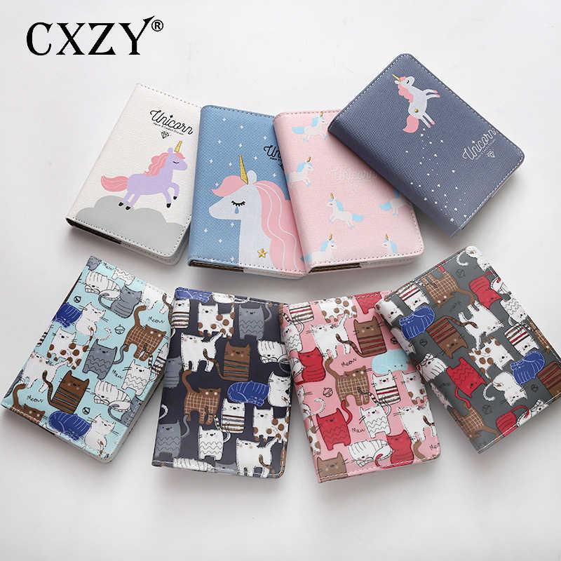 Cxzy Canvas Cute Unicorn Notebook Paper Grid Note Book Bullet