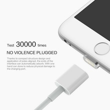 Magnetic Charging Cable Micro Usb Data Cable 2.4A for Apple iPhone Android for Samsung Mobile Phone