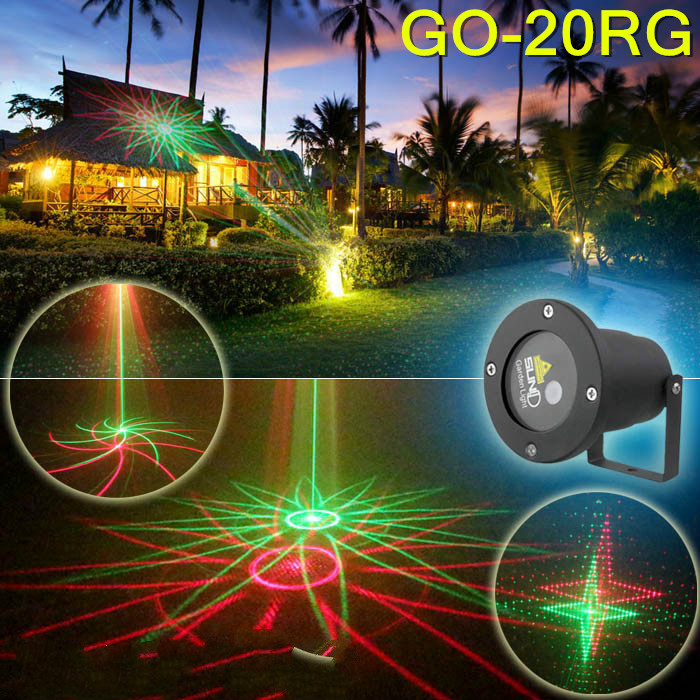 High quality 20 patterns lawn lamp Outdoor waterproof laser light Laser light Christmas decorative lamp high quality single color all over the sky star waterproof outdoor laser lawn lamp christmas landscape light quality guarantee