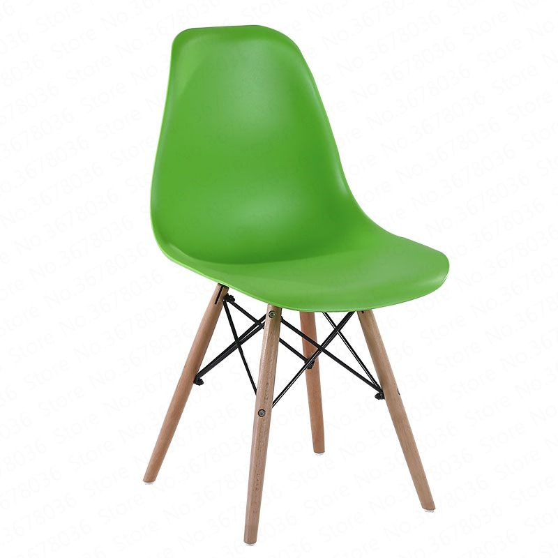 Nordic Dining Chair Leisure Computer Office Chair Backrest Negotiation Chair Simple Creative Casual Home Plastic Coffee Chair(China)