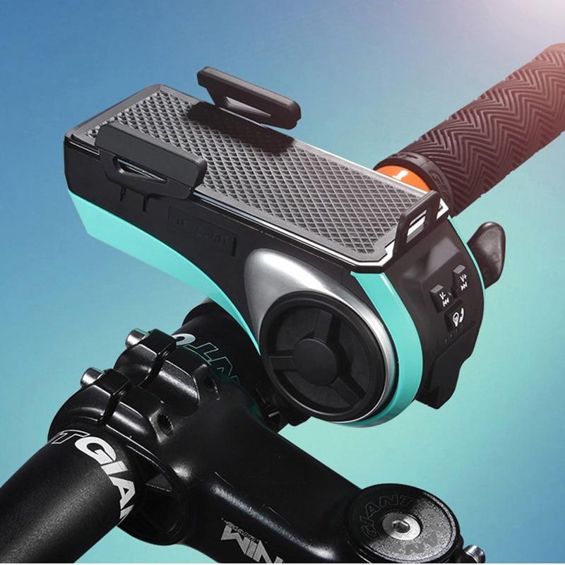 ФОТО Bike Head Light Cycling Bicycle LED Light Waterproof Bell Head Wheel Multifunction MTB Lights Lamp Headlight M3014