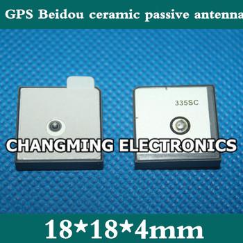 18*18*4mm GPS Beidou wbudowana antena antena ceramiczna oryginalny antena pasywna (darmowa wysyłka 10 sztuk) tanie i dobre opinie NoEnName_Null 18*18*4mm GPS Beidou built-in ceramic passive antenna