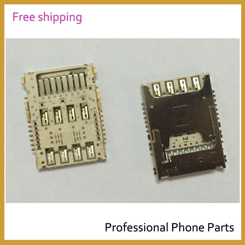 Original New SIM Card Reader Holder Reader Slot For LG G3 D855 D850 D851 Replacement Mobile Phone Parts