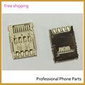 Original nueva tarjeta SIM titular de lector de lector de tarjetas de ranura para el LG G3 D855 D850 D851 reemplazo piezas del teléfono móvil
