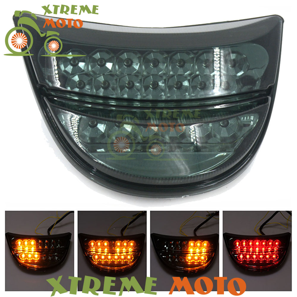 Motorcycle LED Rear Turn Signal Tail Stop Light Lamps Integrated For Honda CBR954RR CBR 954 RR 2002 2003 02 03