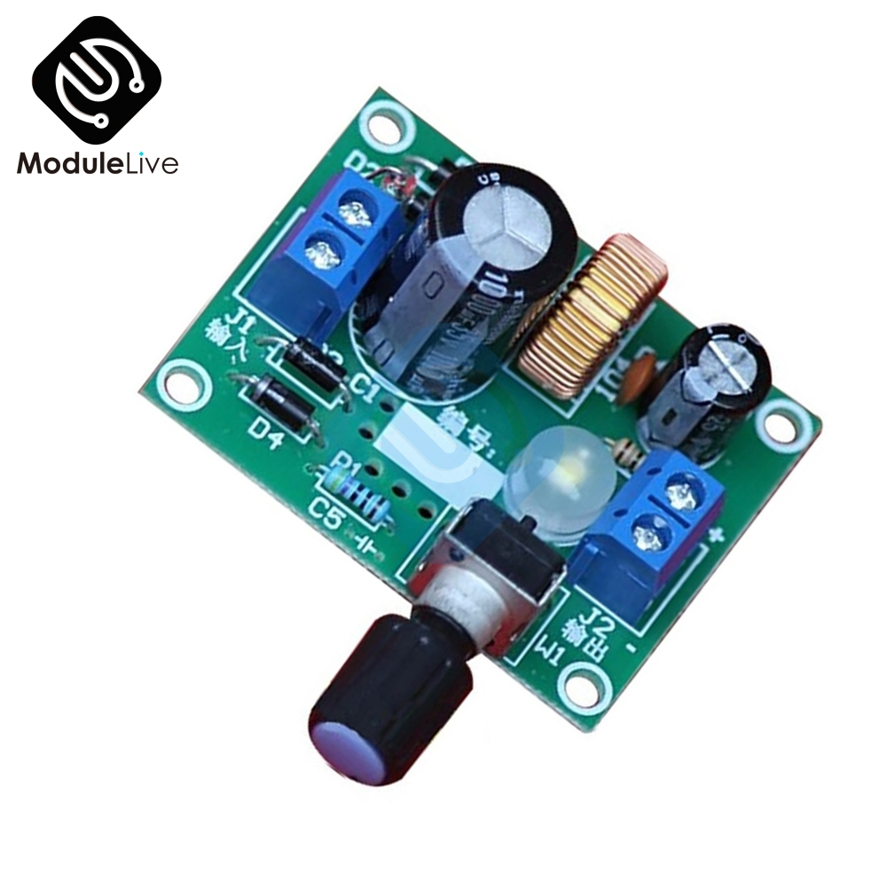 1Pcs DIY Kit LM2596 Adjustable Voltage Stabilizer Precise Buck Step Down Power Supply Module Board сумка для инструмента jettools м 17