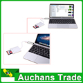 Envío Gratis 2en1 USB 3.0 A USB-C Hub Adaptador Para Macbook Air Plata de Carga y Sincronización de Datos