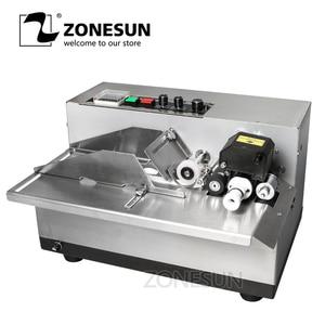 Image 1 - ZONESUN MY 380 coding machine Semi Automatic Solid Ink Date Coding Machine, automatically continuous date coding machine