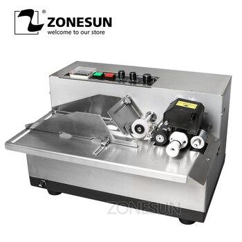 ZONESUN MY-380 coding machine Semi Automatic Solid Ink Date Coding Machine, automatically continuous date coding machine фото