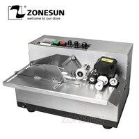 Zonesun my 380 máquina de codificação semi automática da data da tinta contínua  máquina de codificação automaticamente contínua da data machine machine machine automatic machine d -