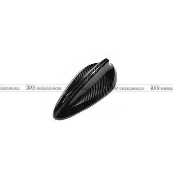 Car-styling Carbon Fiber Antenna Aerial Glossy Fibre Racing Body Kit Shark Fin Trim Fit For BMW F20 F45 F46 X4 F26 X5 F15 X6 F16 image