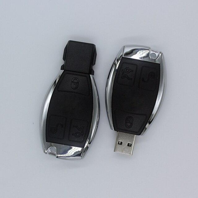 Car Logo Pen Drive Mercedes Benz Car Key USB Stick USB Flash Drives