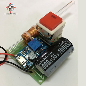 Image 3 - Module de pistolet électromagnétique primaire modèle expérimental scientifique pistolet électromagnétique gamme de Module de charge 5M pièces de bricolage