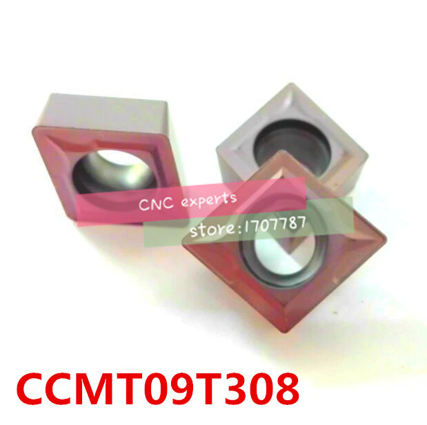 Free shipping CCMT09T308 carbide CNC inserts,CNC lathe tool,apply to stainless steel and steel processing, insert  SCLCRSCFCR