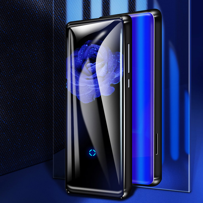 Mahdi M600 HiFi Bluetooth MP4 player HD touch screen Video player Portable Slim mit Eingebautem Lautsprecher FM Radio e-book APE flac