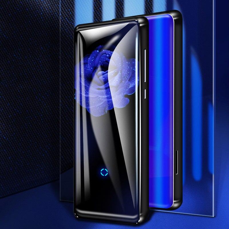 Mahdi M600 HiFi Bluetooth MP4 lecteur HD écran tactile lecteur vidéo Portable mince avec haut-parleur intégré Radio FM e-book APE Flac