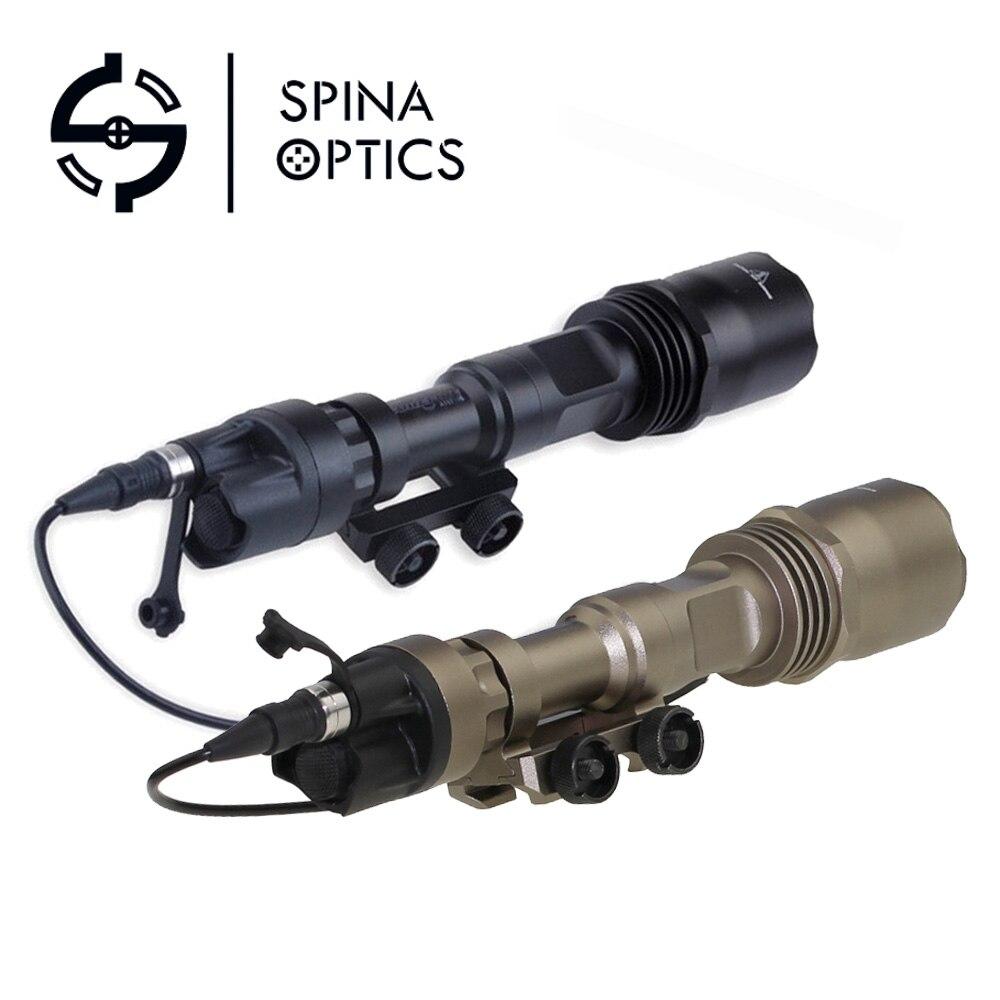 sipna optica tatico arma luzes m961 led flash versao luz super brilhante lanterna tatica para rifle