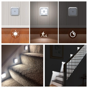 LED Sensor Night Light Closet Lights Battery Operated Stick-on LED Motion Sensor Wall Lamp Cabinet Stairs Light