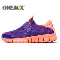 ONEMIX Free Sock Men Running Shoes Women Sports Shoes Breathable Lightweight Sneaker for Men