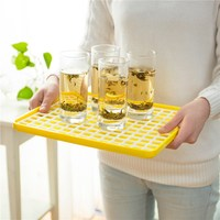 Glass Cups Dish Tray Food Fruit Kitchen Tool Dry Multi Function Storage Rack Draining Board Cooking