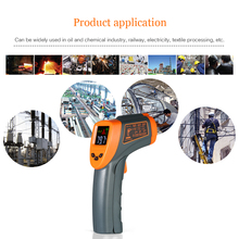 Mini Handheld LCD Digital Non-contact IR Infrared Thermometer Temperature Tester Pyrometer with Centigrade Fahrenheit цены
