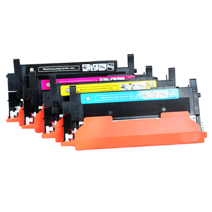 1 set. New compatible CLT M404S M404S clt 404s CLTK404S CLT Y404S 404 S toner cartridge for samsung C430 C430W C433W C480W FW-in Printer Parts from Computer & Office    1